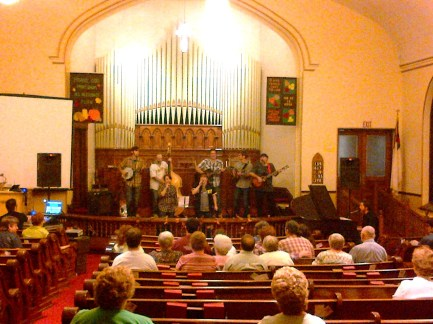 Olive Mountain Band - Traditional Bluegrass Gospel Worship Service and Concert