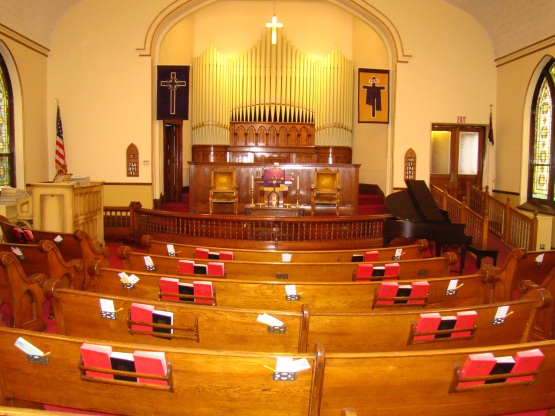 Central Church's Sanctuary