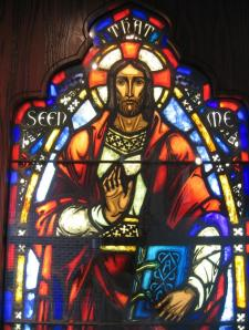 Stained Glass - Jesus