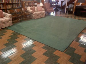 Central -Parlor Carpet Cleaned - 5-17-2013