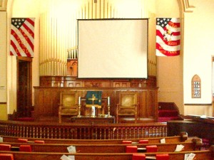 Central - New Projection Screen 2 - 7-15-2013