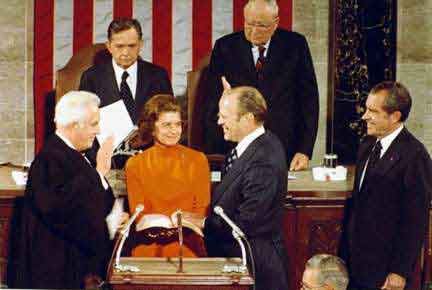 Gerald Ford Becomes Vice President