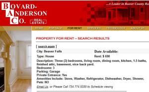 Parsonage - Bovard-Anderson Listing - 8-10-2013