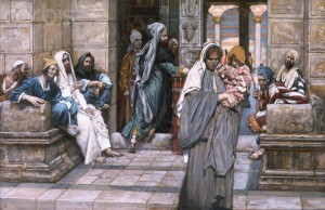The Widow's Mite by James Tissot