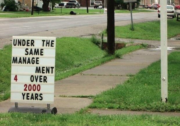 Church Sign 2