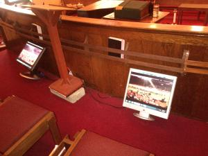 Central - Second Choir Loft Monitor 1 - 10-3-2013