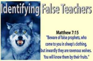 Identifying False Teachers