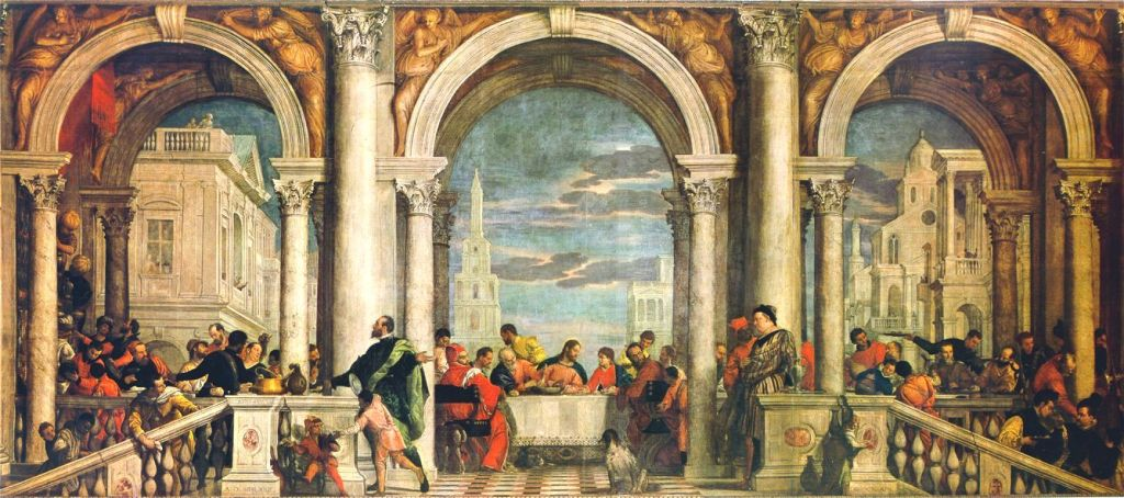 """The Feast in the House of Levi"" - Pablo Veronese"
