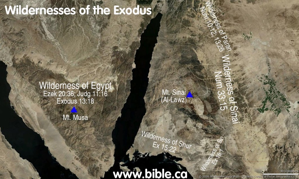 Wilderness of the Exodus