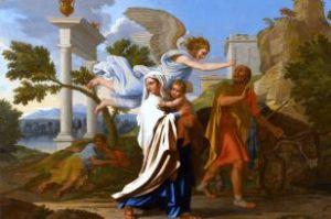 The Flight into Egypt, Nicolas Poussin 1657