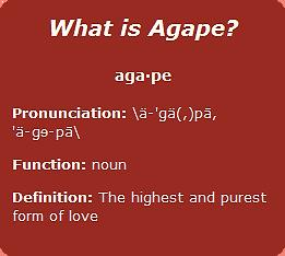 What is Agape.bmp
