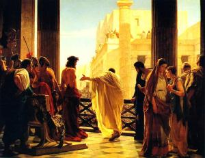 Maundy Thursday - Pilate