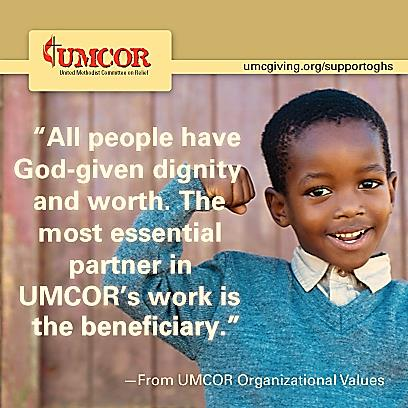 UMCOR - All People Have God-Given Dignity