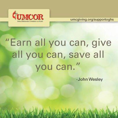 UMCOR - John Wesley