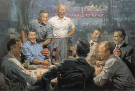 Presidents Playing Cards