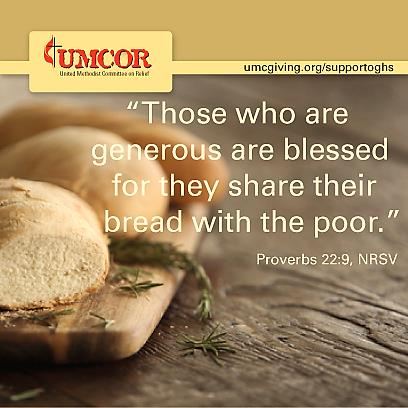 UMCOR - The Generous are Blessed