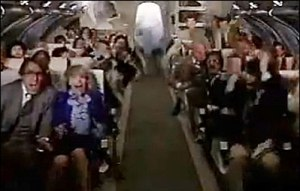 Panic in Airplane
