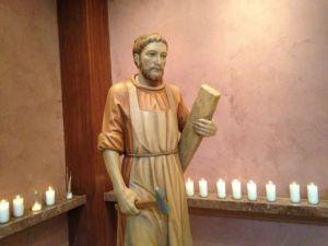 Statue of St. Joseph in St. Henry Catholic Church, Nashville, Tenn.