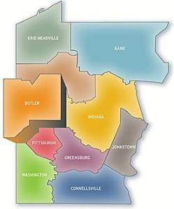 The Districts of the Western PA Conference