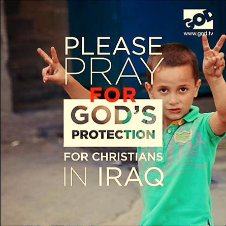 Pray for Christians in Iraq