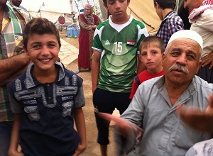 Members of Kakai religious community live in refugee camps following the ISIS invasion.