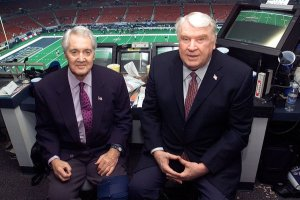 Pat Summerall and John Madden