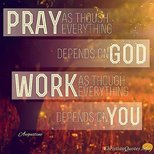 Pray and Work