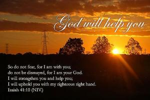 God will hlep you