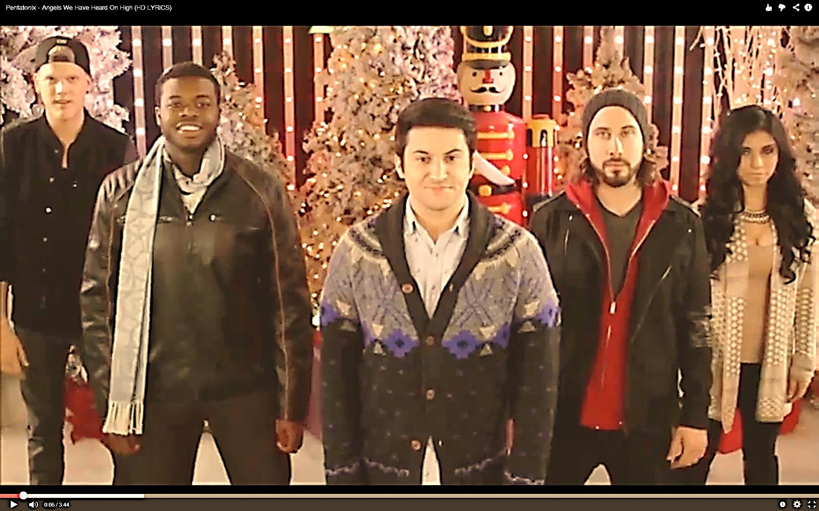 enjoy your christmas day with this pentatonix video