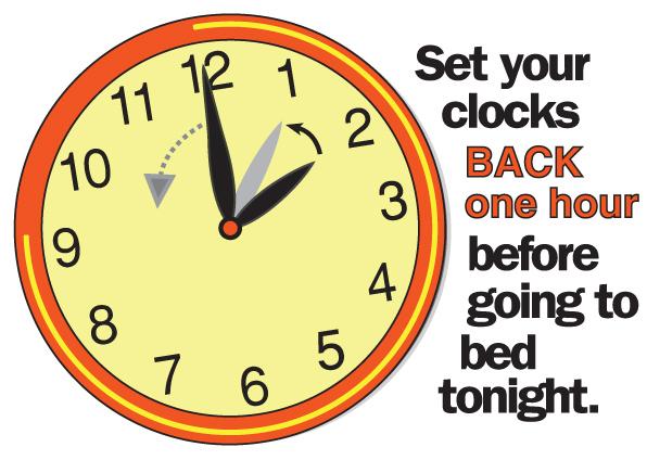 Turn Clock Back