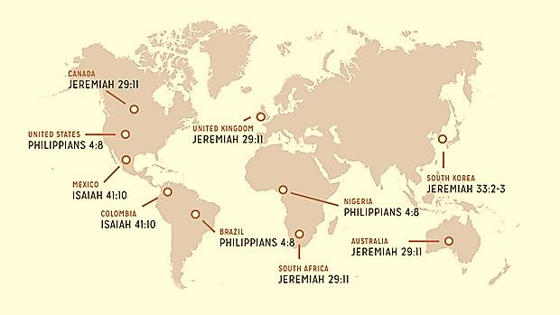 2014 Top Bible Verses