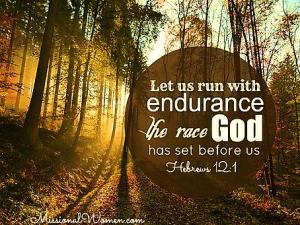 Endurance - Hebrews 12--1