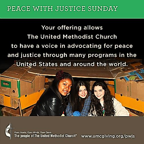Peace with Justice Sunday 5