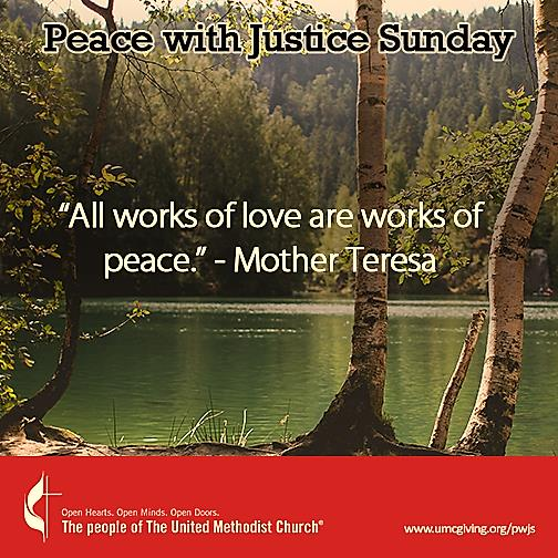 Peace with Justice Sunday 6