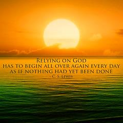 Relying on God
