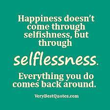 Overcoming Selfishness