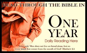 Read Through the Bible in 1 Year
