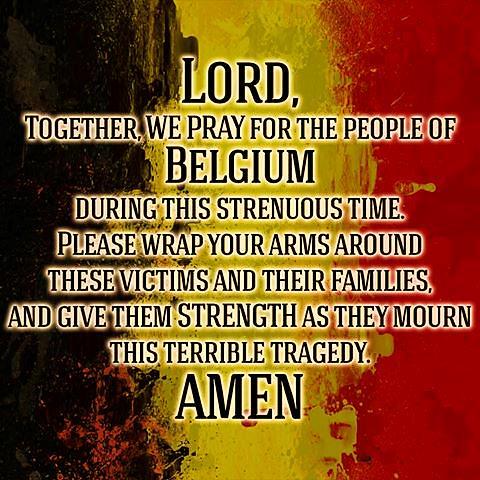 Belgium ISIS Attack - 3-22-2016