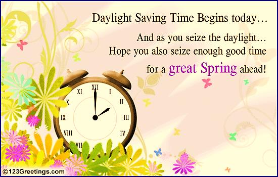 Daylight Savings Time 2016 - 2