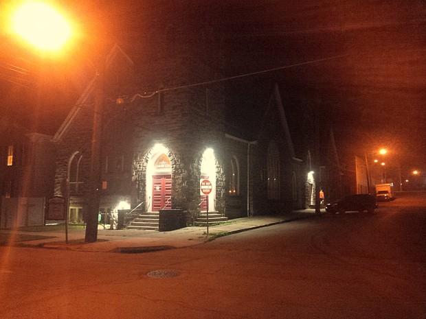Central - New Outside LED Lights 3 - 6-21-2016